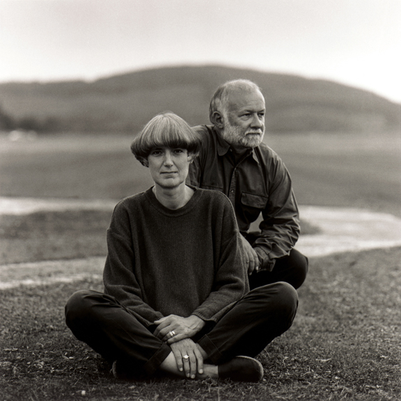 Patricia + Angus Macdonald Portrait by <a href=